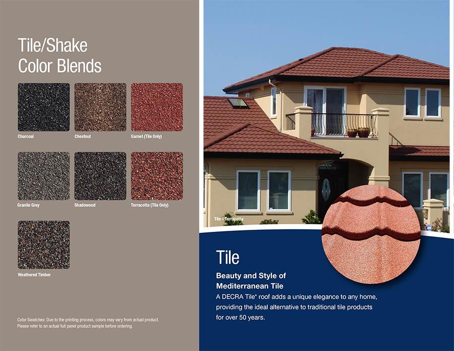 Decra Stone Coated Steel Tile Metal Roofing Charles Martin