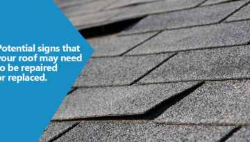 Potential signs that your roof may need to be repaired